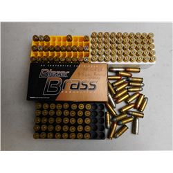 ASSORTED 38 CAL AMMO/RELOADS
