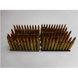 ASSORTED 223 REM AMMO ON STRIPPER CLIPS