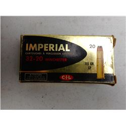 IMPERIAL 32-20 WIN AMMO