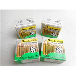 SELLIER & BELLOT 9MM LUGER AMMO