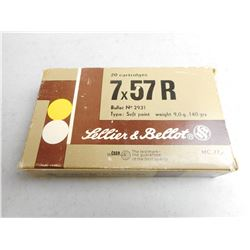 SELLIER & BELLOT 7X57R AMMO