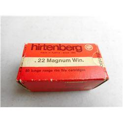 HIRTENBERG 22 MAGNUM WIN AMMO