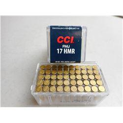 CCI 17 HMR AMMO