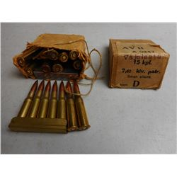 ASSORTED 7.62 AMMO