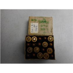CANADIAN WWII 9MM MARK IZ AMMO