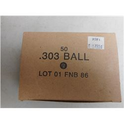 303 BALL MILITARY AMMO