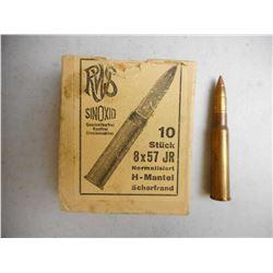 RWS 8X57 JR AMMO