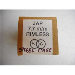 JAP 7.7MM RIMLESS SC AMMO