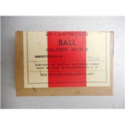 D.M. CAL 30 M2 (30-06 BALL) AMMO