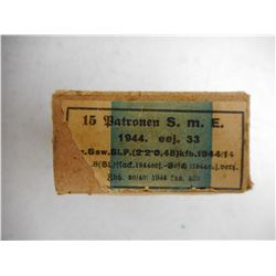 GERMAN WWII 8MM AMMO