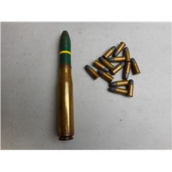WWII 20 MM MKII AMMO & 38 S&W