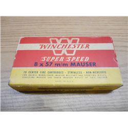 WINCHESTER 8 X57 MAUSER BRASS
