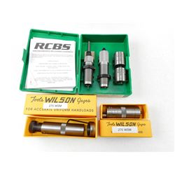 ASSORTED 270 WSM RELOADING DIES