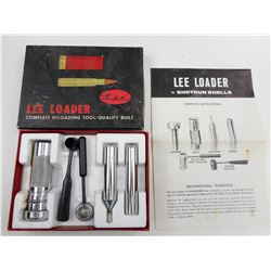 LEE LOADER FOR SHOTGUN SHELLS