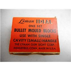 LYMAN SINGLE CAVITY BULLET MOULD