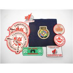 ASSORTED SPORT PATCHES & BADGES