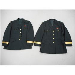 CANADIAN OFFICER'S JACKETS