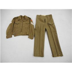 WOOL ROYAL CANADIAN HORSE ARTILLERY UNIFORM