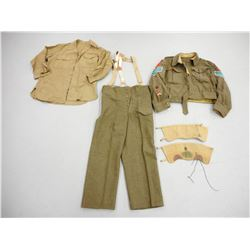 WWII SASKATCHEWAN LIGHT INFANTRY M.G. UNIFORM