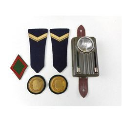 CFL FLASHLIGHT & EUROPEAN EPAULETTES