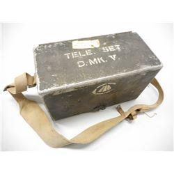 WWII TELELPHONE SET D.MK.V.