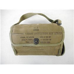U.S. CHEMICAL AGENT DETECTOR KIT M9A2