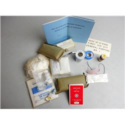 MILITARY FIRST AID KIT NO. 1 PIECES