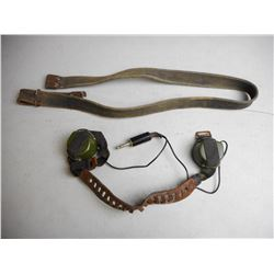 MILITARY HEADSET & RIFLE SLING