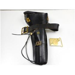 CANADIAN HOLSTER & BELT BUCKLE