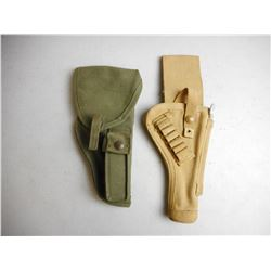 MILITARY CANVAS HOLSTERS