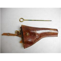 LEATHER HOLSTER WITH TOOL