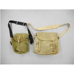 WWII MILITARY SATCHELS