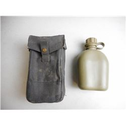 WWII POUCH & CANTEEN