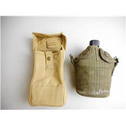 CANADIAN WWII POUCH & CANTEEN