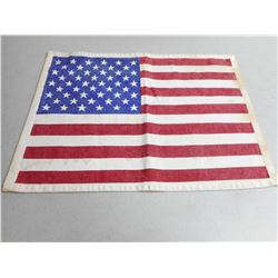 U.S. 48 STAR LINEN FLAG