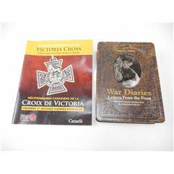 WAR DIARIES DVD & VICTORIAN CROSS RECIPIENT BOOKLET