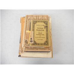 ASSORTED GERMAN WWI/WWII ERA BOOKS