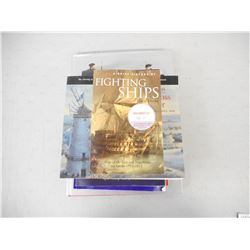 ASSORTED BOOKS ON WARS & BATTLES OF THE 1700-1800'S