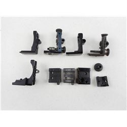 ASSORTED RECEIVER SIGHT PARTS