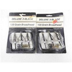 DELUXE 3-BLADE BROADHEADS