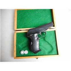 DAISY POWERLINE 008 AIR PISTOL WITH WOODEN CASE