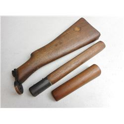 ASSORTED WOODEN STOCK PIECES