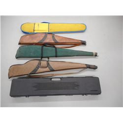 ASSORTED RIFLE CASES