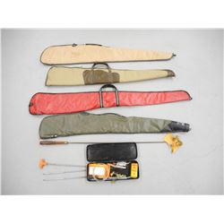 SOFT RIFLE CASES & CLEANING RODS