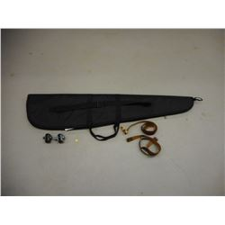 SOFT RIFLE CASE, SLING & TRIGGER LOCKS