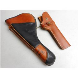 LEATHER HOLSTER & SOFT HANDGUN CASE