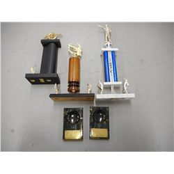 ASSORTED UN/ASSIGNED TROPHIES