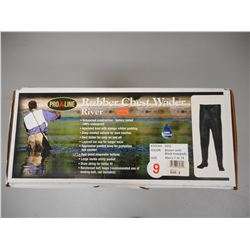 PROLINE RUBBER CHEST WADERS- RIVER