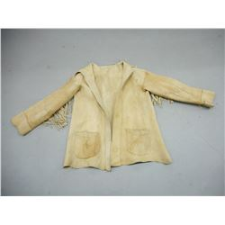 ANTIQUE NATIVE AMERICAN BUCKSKIN JACKET