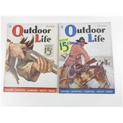 VINTAGE OUTDOOR LIFE MAGAZINE